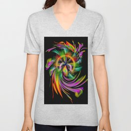 Rainbow Creations 2 Unisex V-Neck