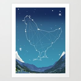 Gallus Major Art Print