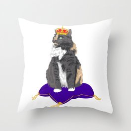 Queen Aurora Throw Pillow