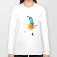 oklahoma Long Sleeve T-shirts featuring Oklahoma Bird by HK Chik