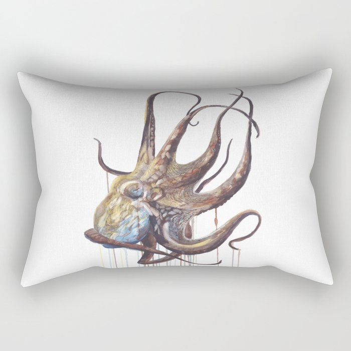 He'e - Octopus Rectangular Pillow