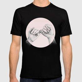 pinky swear // hand study T-shirt