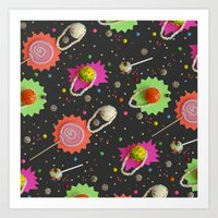 Candy Constellations Art Print