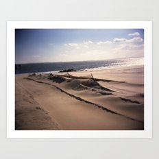 Sea Fence Art Print