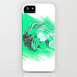 """""""Fumes"""" iPhone Case"""
