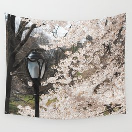 April in NYC Wall Tapestry