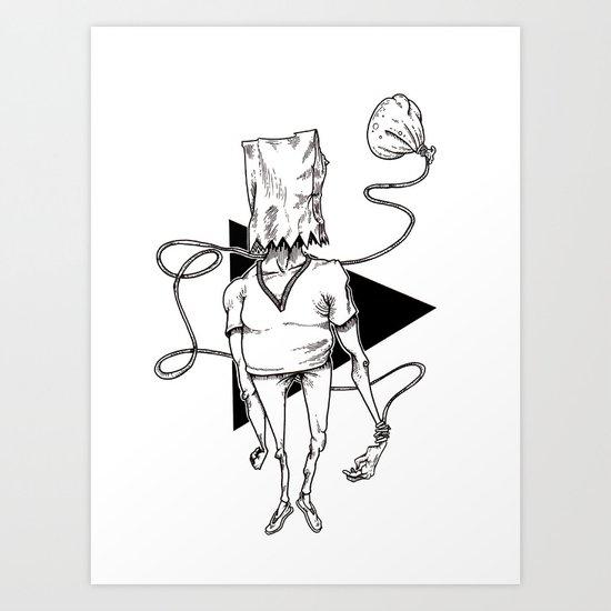 Bag Art Print