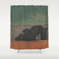 castle Shower Curtains featuring Castle by Mr and Mrs Quirynen