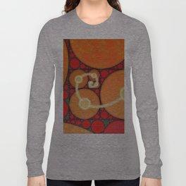 Fibonacci Spiral Fractal Long Sleeve T-shirt