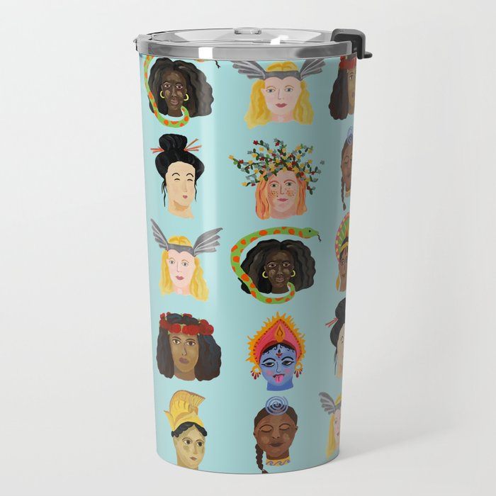 Goddesses Around the World Travel Mug