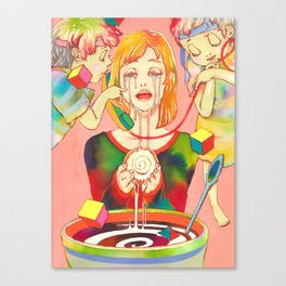A Small, Good Thing Canvas Print
