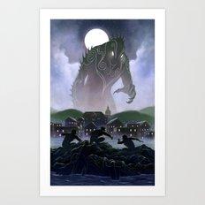 Devil's Reef Art Print