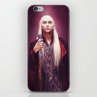 thranduil iPhone & iPod Skins featuring Thranduil by tillieke