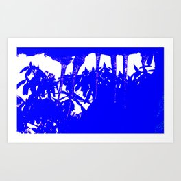 Harmony in Blue Art Print