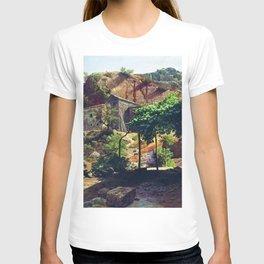 Southern Landscape 1866 By Lev Lagorio | Reproduction | Russian Romanticism Painter T-shirt