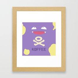 koffee Framed Art Print