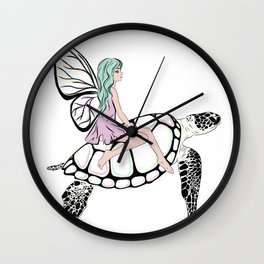 Fairy/ Turtle Wall Clock
