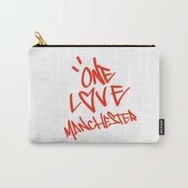 One Love Manchester Stand Up Against Hate Carry-All Pouch