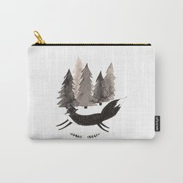 Running fox Carry-All Pouch