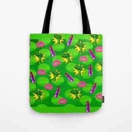Cosmopolitan Pop Art Mixed Media Tote Bag