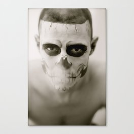 Fell In Love With Zombie Canvas Print