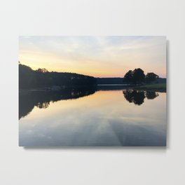 View From the Course Metal Print