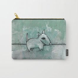 Dog No.1q by Kathy Morton Stanion Carry-All Pouch