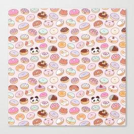 Mmm... Donuts! Canvas Print