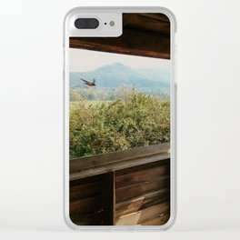 Flying Through Clear iPhone Case