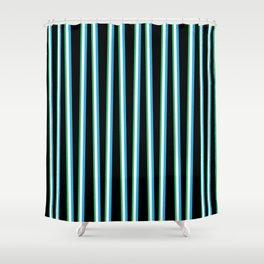 between the trees black blue u0026 green 312 shower curtain