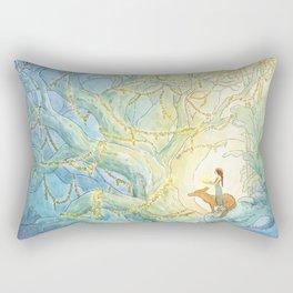 An Offering of Light Rectangular Pillow