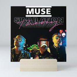 muse simulation theory tour 2019 maupulang Mini Art Print