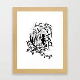A loophole in Limbo Framed Art Print