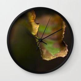 LEAVES OFSOUTH Wall Clock