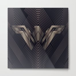 WonderWoman Logo Metal Print