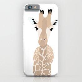 Giraffe drawing iPhone Case