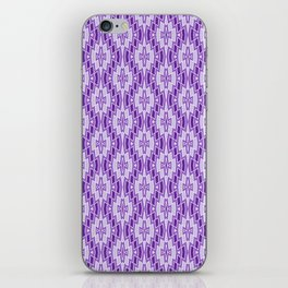 Diamond Pattern in Purple and Lavender iPhone Skin
