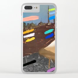 Composition 767 Clear iPhone Case
