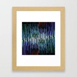 breach in the system Framed Art Print