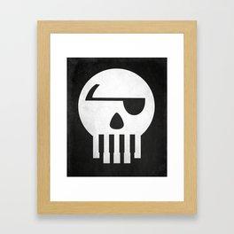 Music Piracy Framed Art Print
