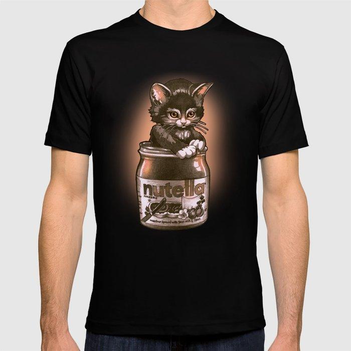 Kitten Loves Nutella T-shirt