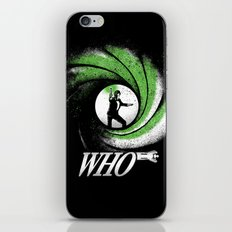 The Name's Who iPhone & iPod Skin
