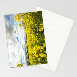Fields of yellow - Floral Photography #Society6 Stationery Cards