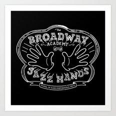 Jazz Hands Art Print