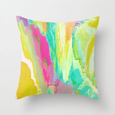 Content Unaware II Throw Pillow