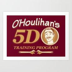 O'Houlihan's 5D Training Program Art Print