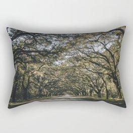 Wormsloe Live Oak Avenue - Savannah II Rectangular Pillow