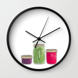 Domaine Coquelicots Wall Clock