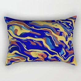 Abstract Alma Llanera Rectangular Pillow