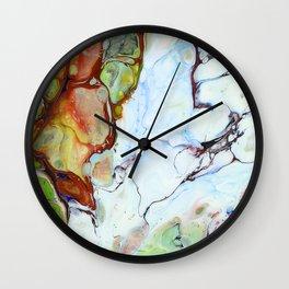 Crushed Abstract #abstract #pattern #society6 Wall Clock